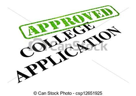 Application letter sample college student
